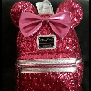 Disney Loungefly Imagination pink backpack
